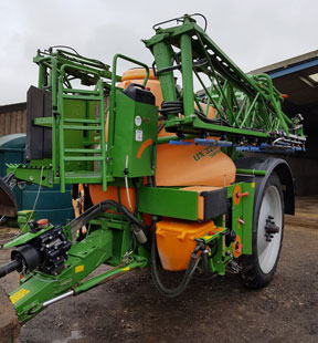 Amazone UX 3200 - Special trailed sprayer, for sale