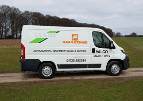 Agricultural Machinery servicing on site from our van serving Dorset, Wiltshire and Hampshire